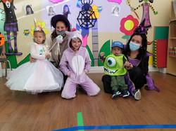 Spanish Pre-School Halloween class