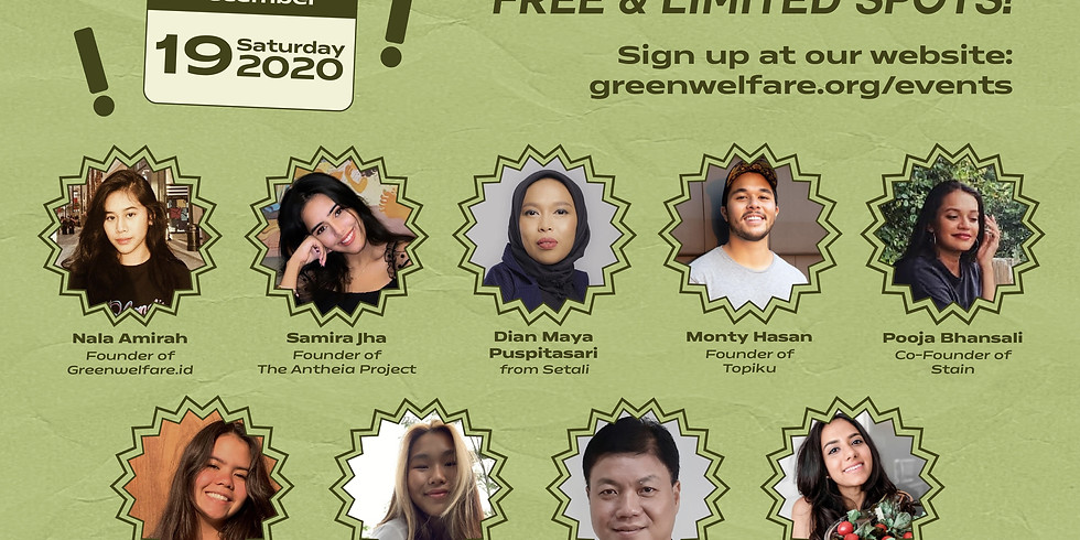 Webinar: A Sustainable Lifestyle In Indonesia