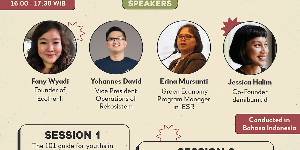 GYT #2: The Future of Youth Entrepreneurship in Eco-businesses