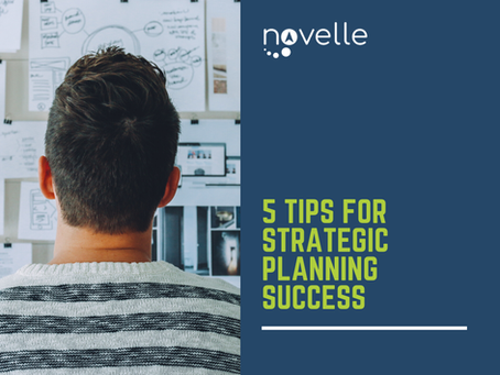5 Tips for Strategic Planning Success