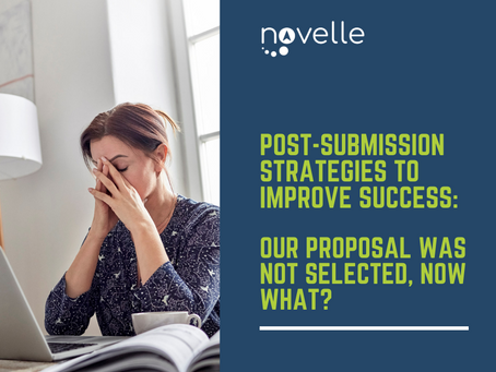 Post-submission Strategies to Improve Success: Our Proposal was Not Selected, Now What?