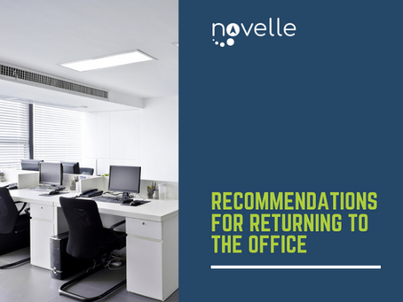 Recommendations for Returning to the Office