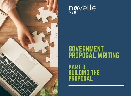 Government Proposal Writing:  Building the Proposal