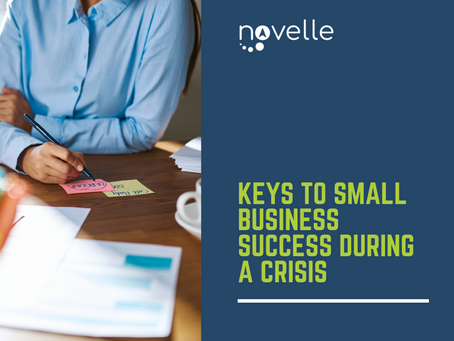 Keys to Small Business Success during a Crisis