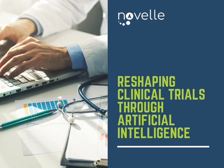Reshaping Clinical Trials Through Artificial Intelligence
