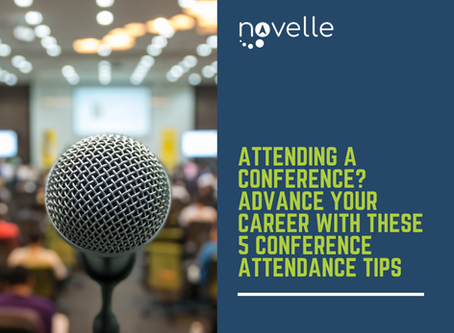 Attending a Conference? Advance Your Career with These 5 Conference Attendance Tips