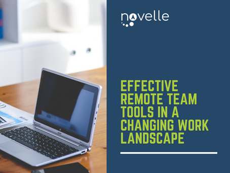 Effective Remote Team Tools in a Changing Work Landscape