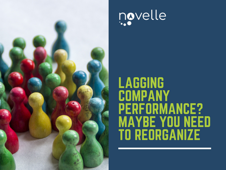 Lagging Company Performance? Maybe You Need to Reorganize