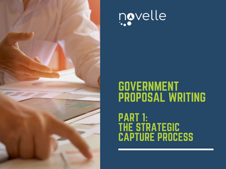 Government Proposal Writing:          The Strategic Capture Process