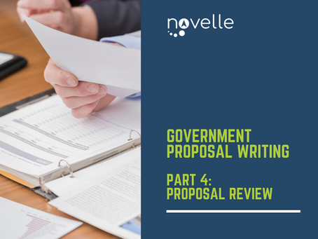 Government Proposal Writing: Proposal Review