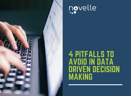 4 Pitfalls to Avoid in Data Driven Decision Making