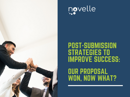 Post-submission Strategies to Improve Success: Our Proposal Won, Now What?