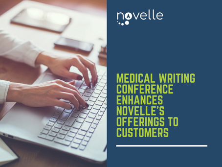 Medical Writing Conference Enhances Novelle's Offerings to Customers