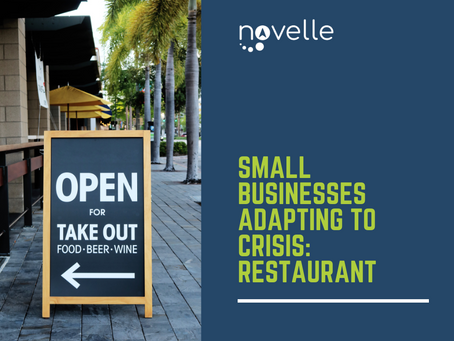 Small Businesses Adapting to Crisis - Restaurants