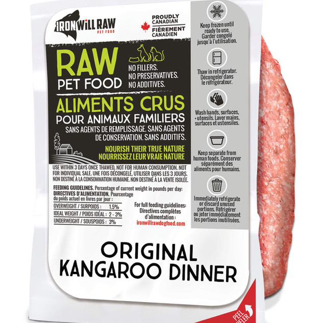 ORIGINAL KANGAROO DINNER