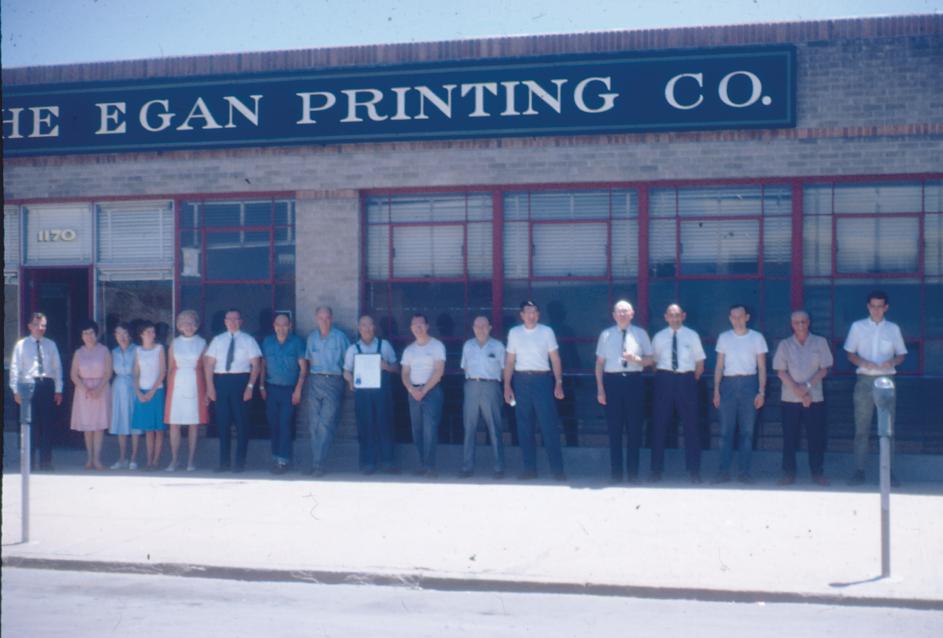Egan Printing  about 1965