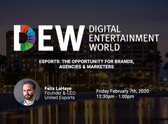 Felix will be speaking at the DEW 2020
