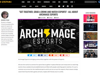 """GET TOGETHER, GRAB A DRINK AND WATCH ESPORTS""- ALL ABOUT ARCHMAGE ESPORTS"
