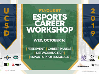 Thomas Meador will be speaking at the FlyQuest Esports Career Workshop