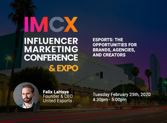 See Felix at the Influencer Marketing Conference & Expo