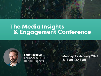 Join Felix at The Media Insights & Engagement Conference