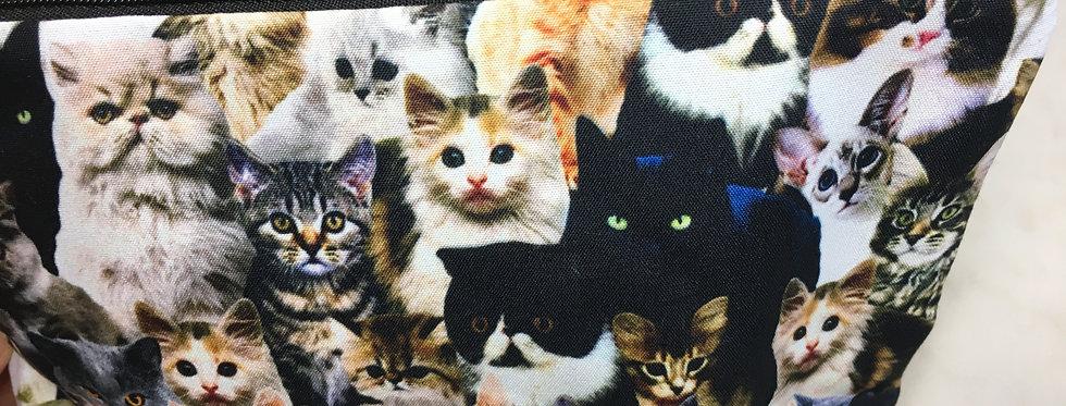 Spare Kitties Makeup Bag