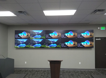 Video Wall Project at Fort Myers Police Department
