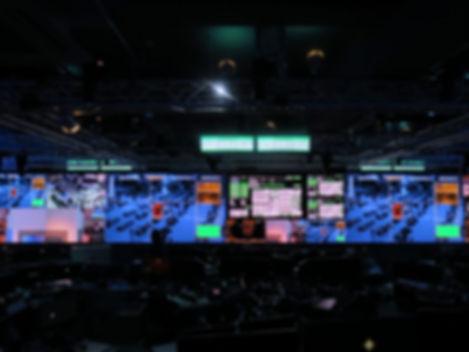EUCOM Command Center Video Wall