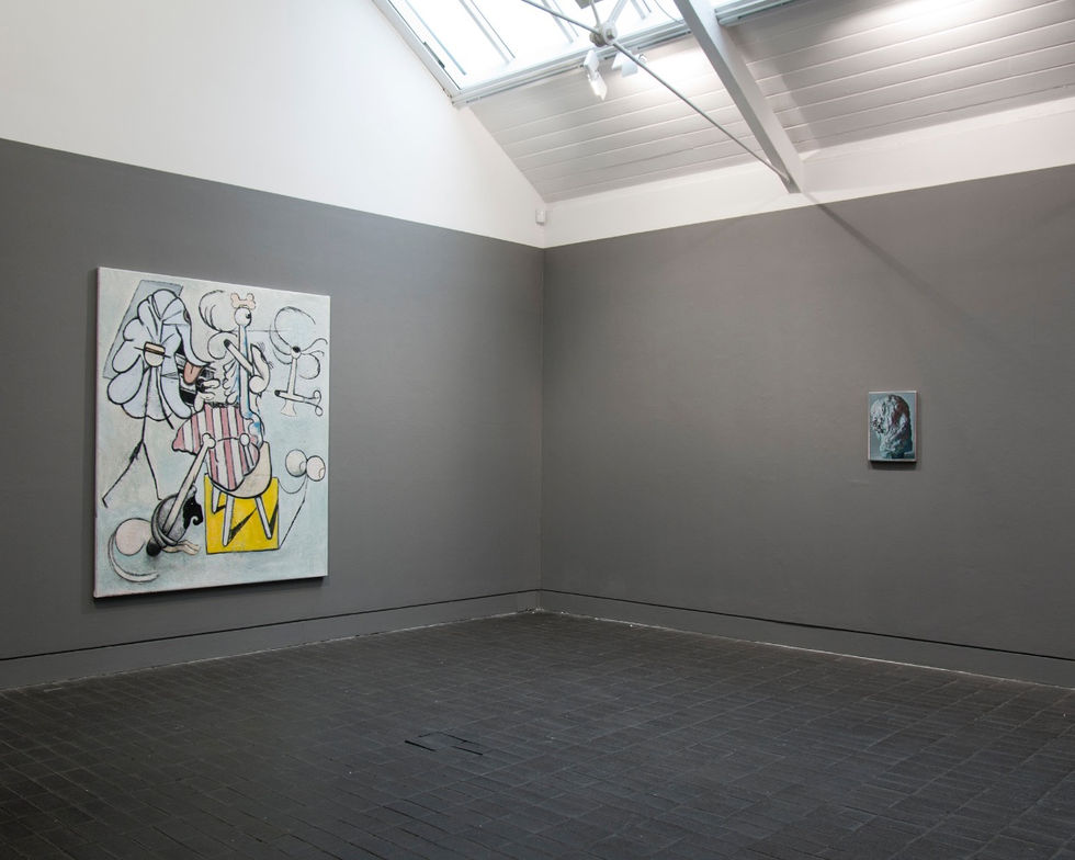 'Suspicion' Group show Jerwood Gallery London 2014