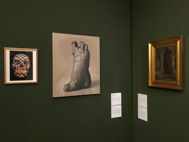 'Nature Morte' Group show Guildhall Gallery London 2018