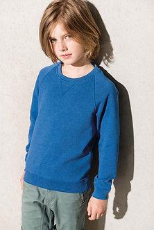 K490 - Sweat-shirt Bio manches raglan enfant