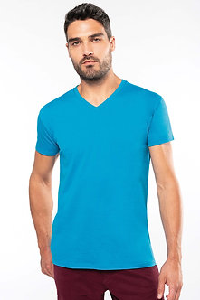 K3028- T-shirt BIO150 col V homme