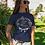 Thumbnail: T-shirt mariée fleurs