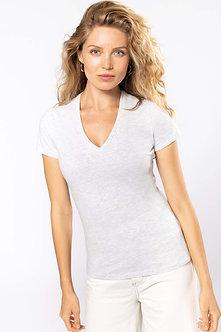 K3029 - T-shirt BIO150 col V femme