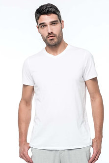 K3002 - T-shirt Supima® col V manches courtes homme