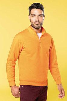 K478 - Sweat-shirt col zippé