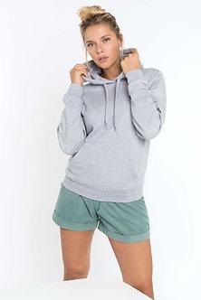 K473 - Sweat-shirt capuche femme
