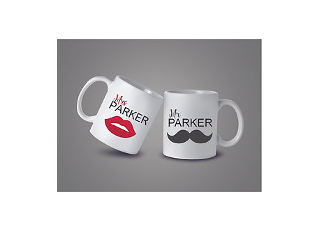 Mugs Mr & Mrs