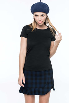 K3001 - T-shirt Supima® col rond manches courtes femme