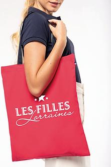 """Sac de shopping tricolore """"Les Filles Lorraines"""""""