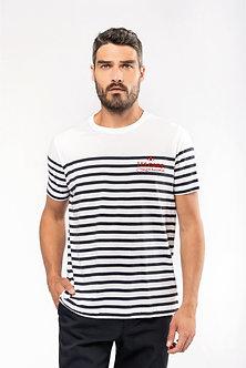 """T-shirt marin col rond BIO """"Les Gars Lorrains"""""""