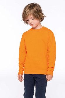 K475 - Sweat-shirt col rond enfant