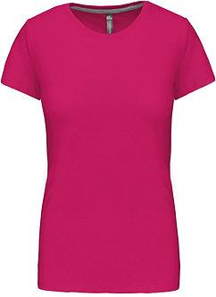 K380 - T-shirt col rond manches courtes femme