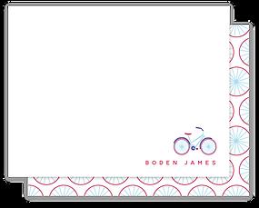 Bike Ride Note Card by Parcel Studios