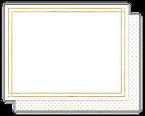Framed Note Card by Parcel Studios