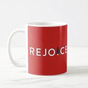Rejoice Christmas Mug