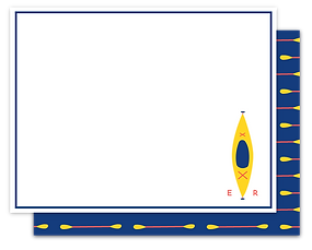 Kayak Note Card