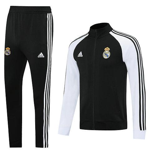 Real Madrid black Tracksuit 2020/2021