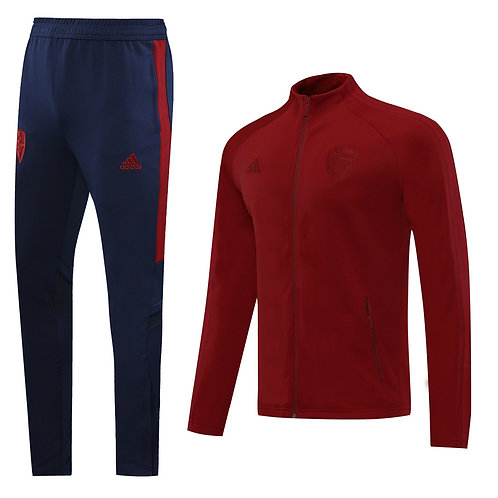 Arsenal red on red Tracksuit 2020/2021