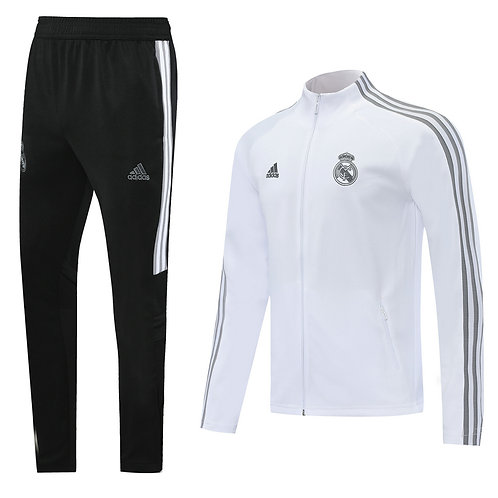 Real Madrid white Tracksuit 2020/2021